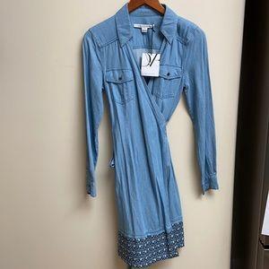 NWT Diane Avon Furstenberg Wrap Dress